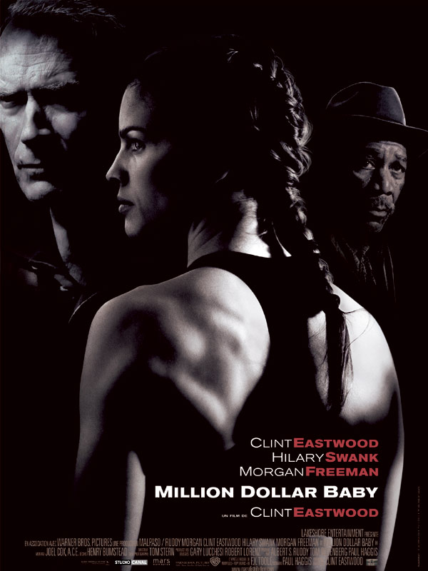Million Dollar Baby : Affiche Hilary Swank, Morgan Freeman