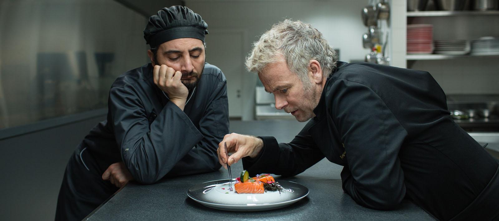 Pension complète : Photo Franck Dubosc, Nader Boussandel