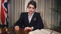 Maisie Williams, aka Arya Stark, vous ordonne d'aller voter