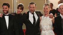 """Cannes 2015 - Vincent Cassel et l'équipe de """"Mon Roi"""" sur le tapis rouge le 17 mai"""