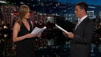 Brie Larson et Jimmy Kimmel lisent un passage du nouveau film sur les émoticônes !