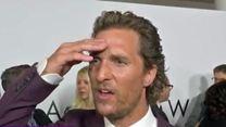 Matthew McConaughey apprend la mort de Sam Shepard en direct