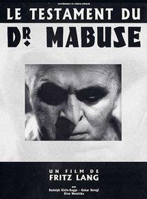 Le Testament du docteur Mabuse streaming