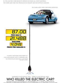 Qui a tué la voiture électrique ?