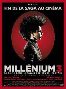 Millénium 3 – La Reine dans le palais des courants d'air streaming