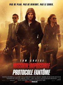 Mission : Impossible – Protocole fantôme streaming