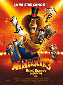 Madagascar 3, Bons Baisers D'Europe streaming
