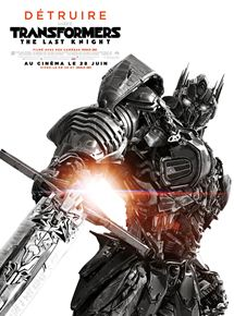 Affiche du film Transformers: The Last Knight