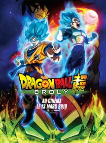 Affiche du film Dragon Ball Super : Broly