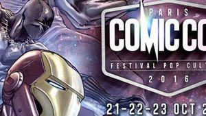 Le Comic Con Paris 2016 célèbre Marvel sur son affiche finale