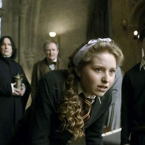 Harry Potter et le Prince de sang mêlé : Photo Alan Rickman, Daniel Radcliffe, Jessie Cave, Jim Broadbent
