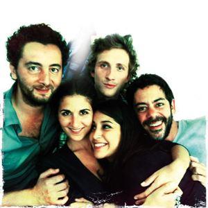 Nous York : Photo Baptiste Lecaplain, Géraldine Nakache, Leïla Bekhti, Manu Payet, Nader Boussandel
