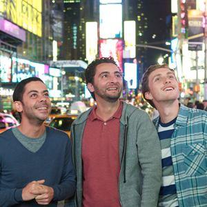 Nous York : Photo Baptiste Lecaplain, Manu Payet, Nader Boussandel