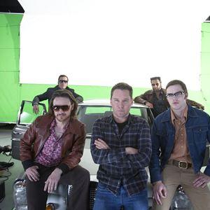 X-Men: Days of Future Past : Photo Bryan Singer, Hugh Jackman, James McAvoy, Michael Fassbender, Nicholas Hoult