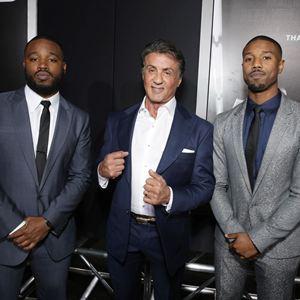 Creed - L'Héritage de Rocky Balboa : Photo promotionnelle Michael B. Jordan, Ryan Coogler, Sylvester Stallone