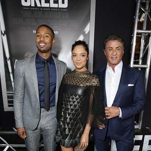 Creed - L'Héritage de Rocky Balboa : Photo promotionnelle Michael B. Jordan, Sylvester Stallone, Tessa Thompson