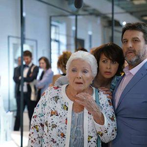 La Ch'tite famille : Photo Guy Lecluyse, Line Renaud, Valérie Bonneton