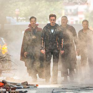 Avengers: Infinity War : Photo Benedict Cumberbatch, Benedict Wong, Mark Ruffalo, Robert Downey Jr.