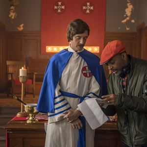 BlacKkKlansman - J'ai infiltré le Ku Klux Klan : Photo Spike Lee, Topher Grace