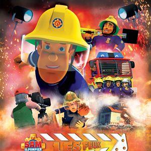Sam le Pompier - Les Feux de la rampe : Affiche