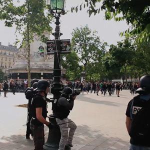 Place de la République, printemps 2016 : Photo