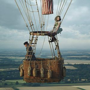The Aeronauts : Photo Eddie Redmayne, Felicity Jones