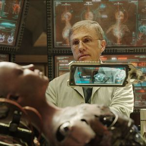 Alita : Battle Angel : Photo Christoph Waltz