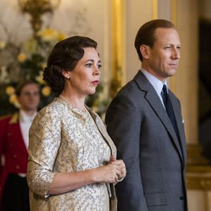 Photo Olivia Colman, Tobias Menzies