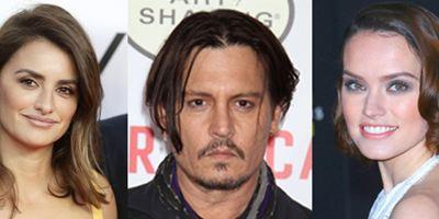 Johnny Depp, Daisy Ridley, Penelope Cruz... Tous embarquent en costumes pour Le Crime de l'Orient Express