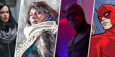Marvel's The Defenders : les acteurs vs. les personnages des comics