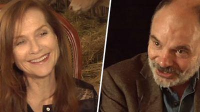 """La Ritournelle : """"Isabelle Huppert est à la fois star... et très drôle !"""""""