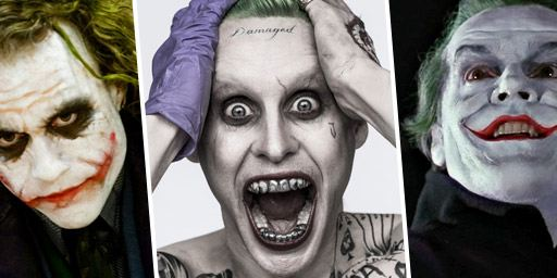 Jared Leto, Heath Ledger, Jack Nicholson... Vive les Joker !
