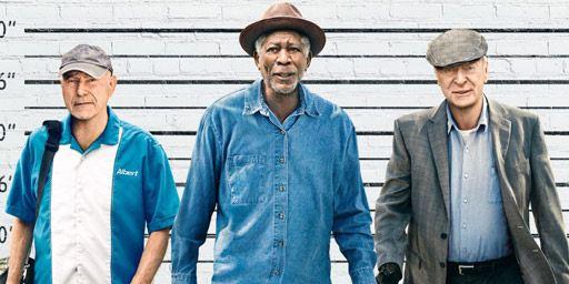 Bande-annonce Braquage à l'ancienne : Morgan Freeman et Michael Caine, braqueurs de banque pour Zach Braff