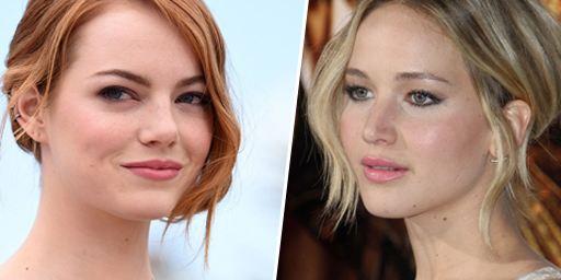 """Emma Stone et Jennifer Lawrence, anciennes rivales pour le rôle-titre de """"Easy Girl"""""""