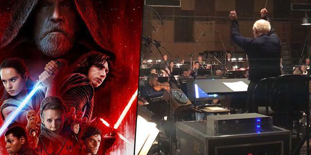 Star Wars 8 : Découvrez John Williams conduire son orchestre sur la célèbre musique de la saga
