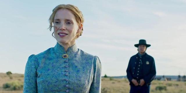 Jessica Chastain dans un western au féminin : découvrez la bande-annonce de Woman Walks ahead