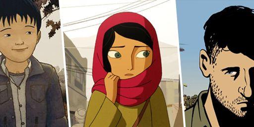 Huit films d'animation inspirés de faits réels