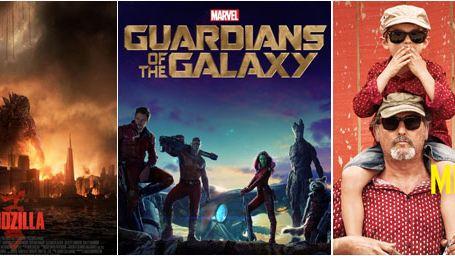 Godzilla, Les Gardiens de la galaxie, The Raid 2,...: Le plein d'affiches !