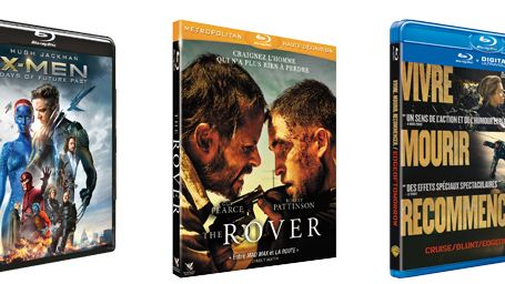 X-Men: Days Of Future Past, The Rover, Edge Of Tomorrow... Les 10 blu-rays / DVD à se procurer d'urgence en octobre