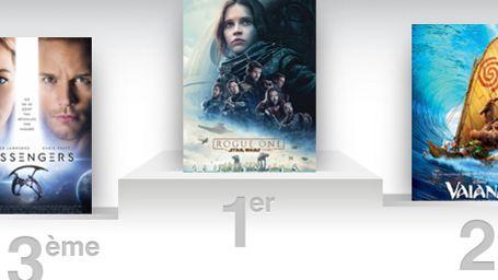 Box-office France : Rogue One passe la barre des 4 millions d'entrées