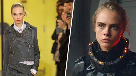 Cara Delevingne et la nouvelle génération de top models devenues actrices