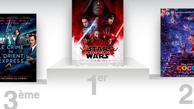 Box-office France : la Force est avec Star Wars, meilleure première semaine de l'année