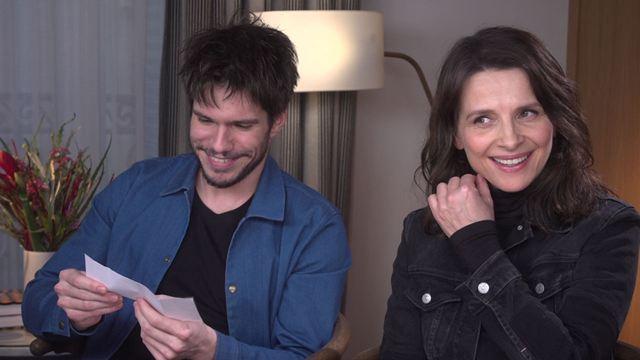 Celle que vous croyez : l'interview Vrai ou Faux avec François Civil et Juliette Binoche