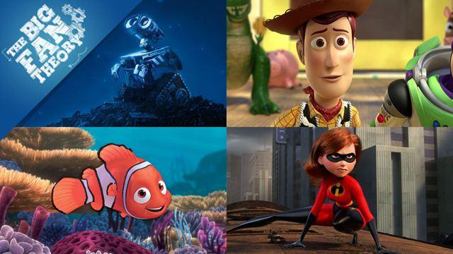 Tous les Pixar sont liés ! La grande théorie sur Toy Story, Cars, Nemo et WALL-E...