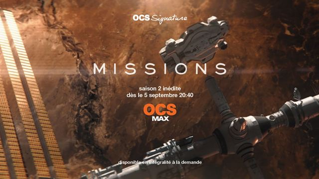 Les séries et films sur OCS en septembre : Missions, The Spy et The Deuce