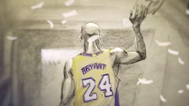 Mort de Kobe Bryant : Dear Basketball, le court métrage qui avait valu un Oscar à la légende NBA