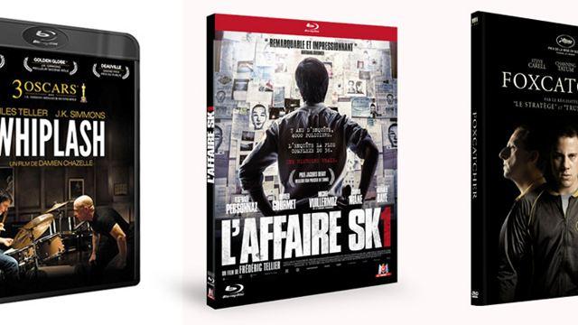 Foxcatcher, L'Affaire SK1, Whiplash... Les 10 Blu-rays / DVD à se procurer d'urgence en mai