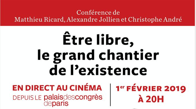 Photo du film Être libre : le grand chantier de l'existence (CGR Events)
