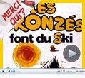 Photo : Les Bronzés font du ski