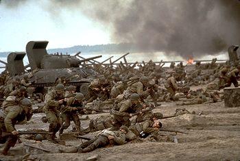 photo du film il faut sauver le soldat ryan photo 55 sur 55 allocin. Black Bedroom Furniture Sets. Home Design Ideas
